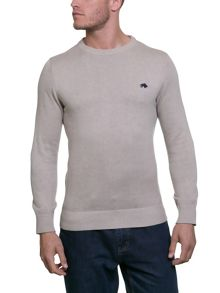 Raging Bull Big & Tall Cotton/Cashmere Crew Neck