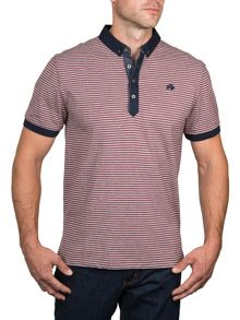 Raging Bull Fine Stripe Jersey Polo