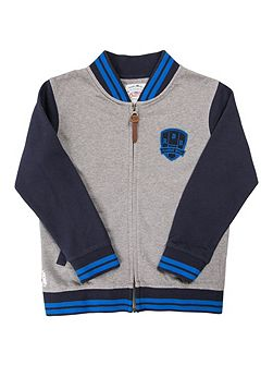 Boys Zip Thru Jacket