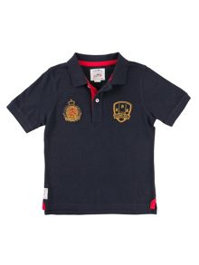 Raging Bull Boys Crest Polo