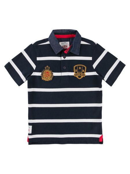 Raging Bull Boys Stripe Rugby