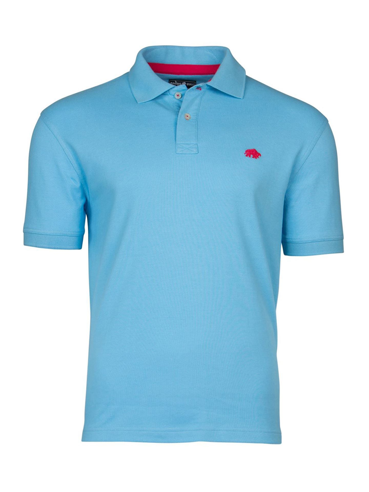 Men's Raging Bull New Signature Polo, Light Blue