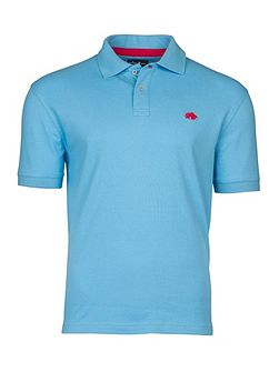 Pin Stripe Polo Sky