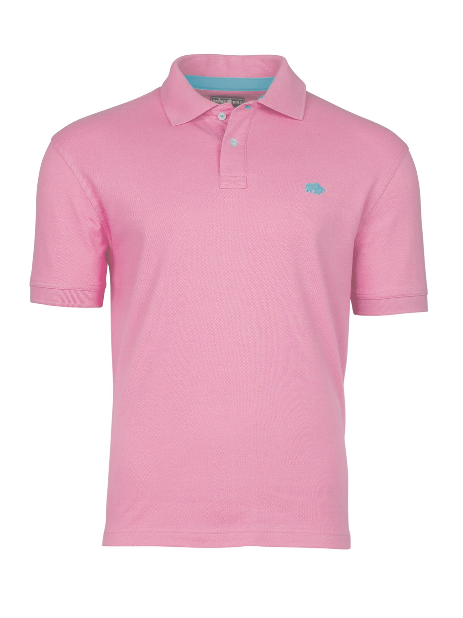 Men's Raging Bull New Signature Polo, Pink