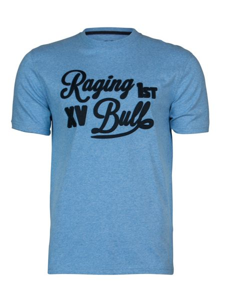 Raging Bull Script Applique T-Shirt