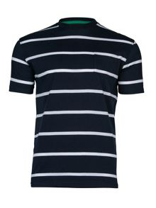 Raging Bull Breton Stripe T-Shirt