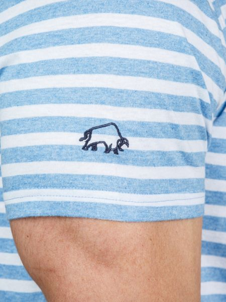 Raging Bull Pin Stripe T-Shirt