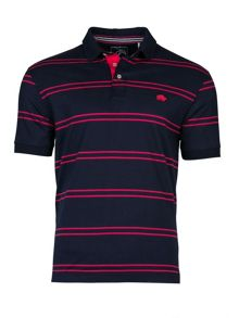 Raging Bull Tram Stripe Jersey Polo