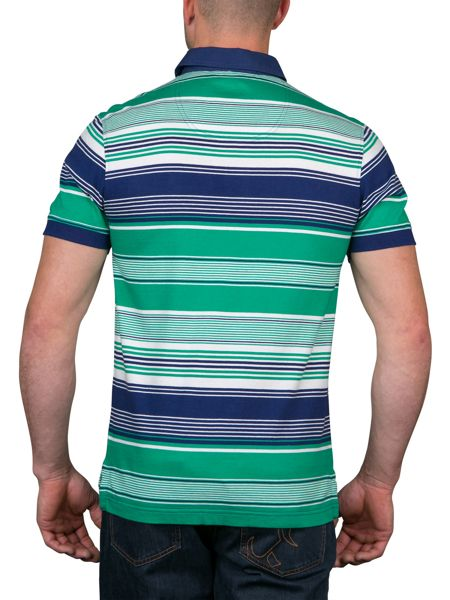 Raging Bull Irregular Stripe Polo