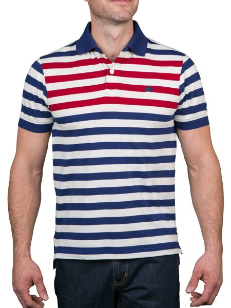 Raging Bull Chest Stripe Polo