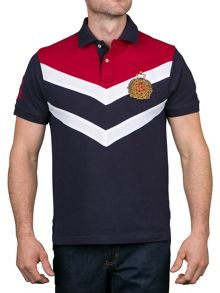 Raging Bull Chevron Panel Polo