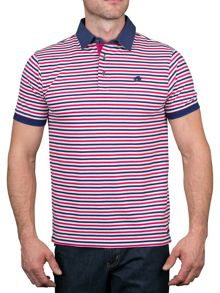 Raging Bull Pin Stripe Polo