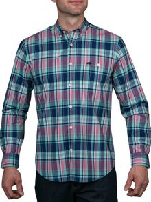 Raging Bull Madras Check Shirt