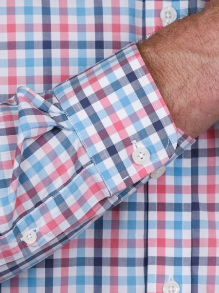 Raging Bull Multi Colour Gingham Shirt