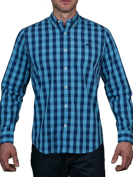 Raging Bull Large Check Shirt