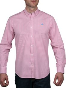 Raging Bull Pin Stripe Shirt