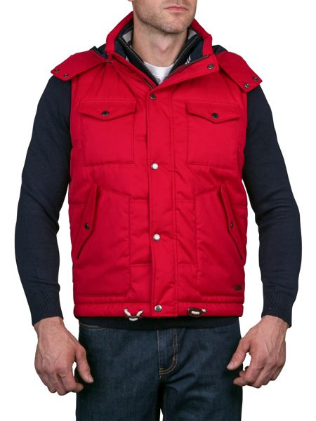 Raging Bull Quilted Hooded Gilet