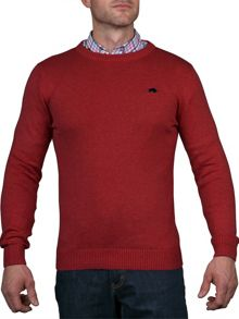 Raging Bull Cotton Crew Sweater