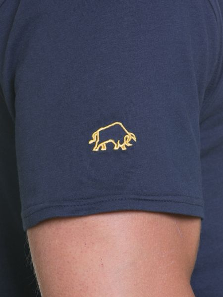Raging Bull Crest Applique Tee