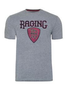Raging Bull Applique Shield Tee
