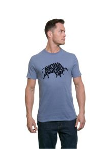Raging Bull Felt Blue Tee