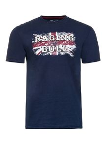 Raging Bull Union Jack Tee