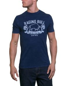 Raging Bull Dyed Graphic Tee