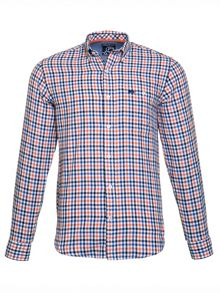 Raging Bull 3 Colour Gingham Shirt