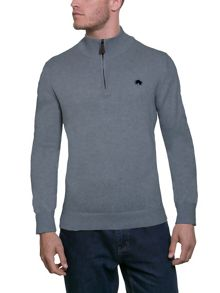 Raging Bull Signature Cotton / Cashmere Quarter Zip