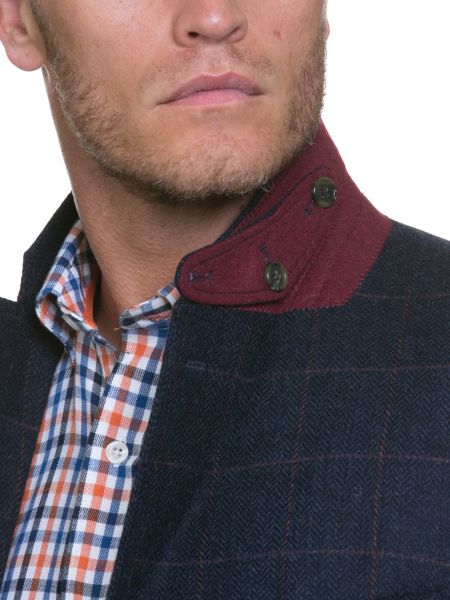 Raging Bull Tweed Overcheck Blazer