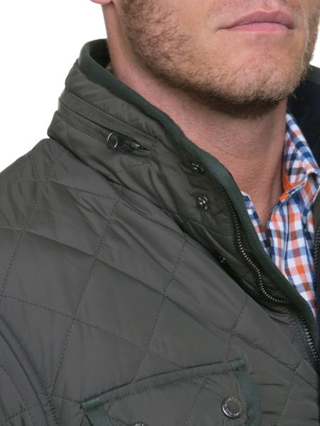 Raging Bull Quilted Field Jacket