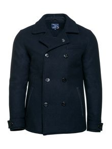 Raging Bull Melton Peacoat