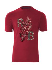 Raging Bull Vintage Rugby T-shirt