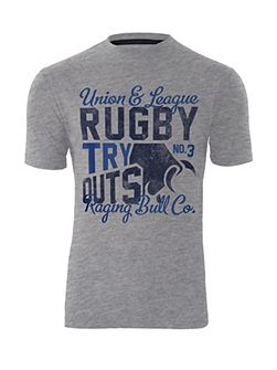 Rugby try outs T-shirt