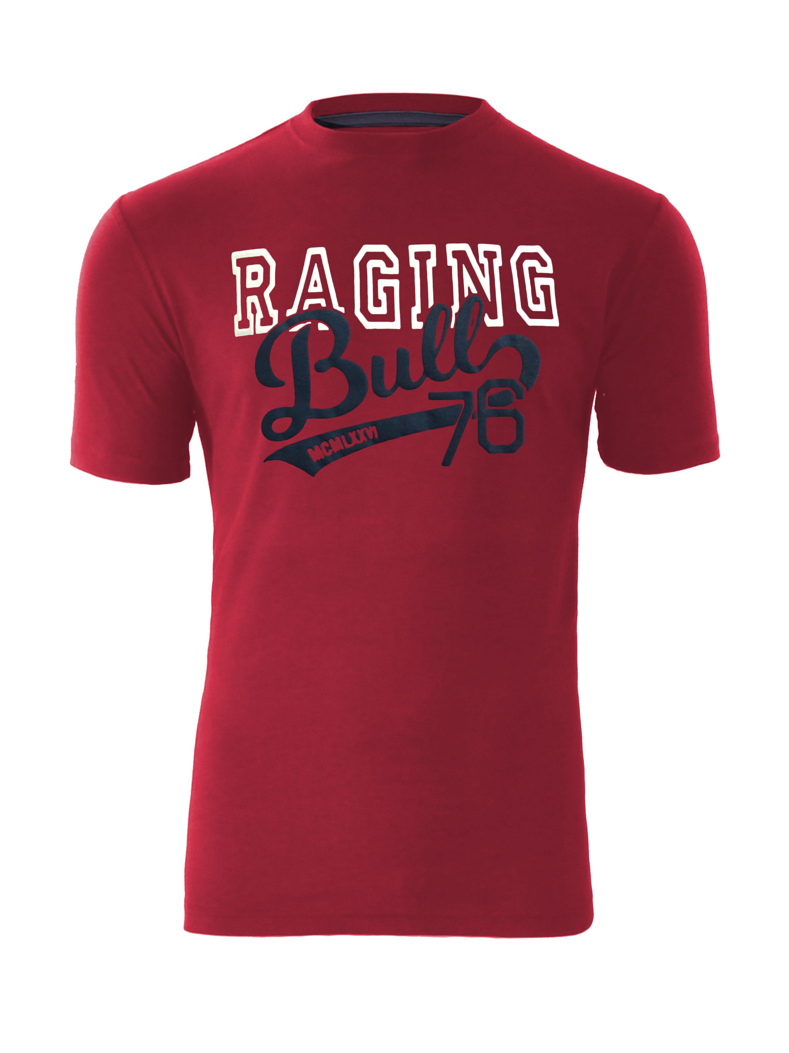 raging bull Men's Raging Bull Raging Bull College T-shirt, Red