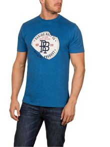 Raging Bull Monogram Applique Tee