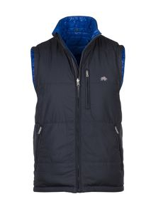 Raging Bull Reversible Hooded Gilet