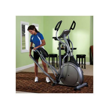 Vision Fitness X6200 folding elliptical trainer with simple cons