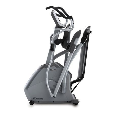 Vision Fitness XF40 Folding Elliptical Trainer with Console