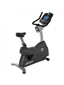 C1 Upright Cycle with Track Plus Console