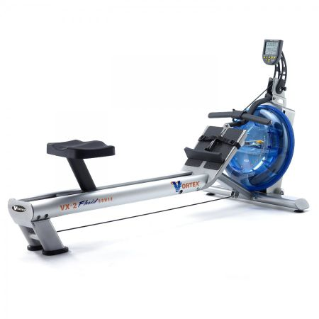 Fluid Rower VX-2 Full Commercial Rower (Adjustable Resistance