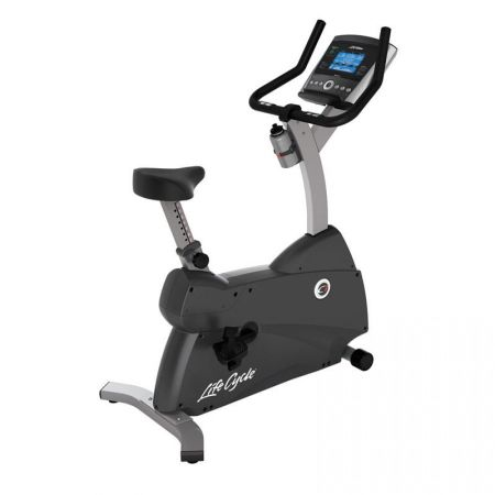Life Fitness C1 Upright Cycle with GO Console