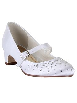 Girls Cherry Communion Bar Shoes