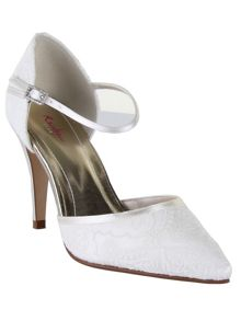 Rainbow Club Tierney lace court shoes