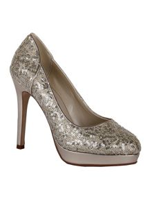 Seralio sequin court shoes