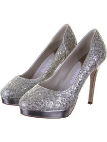 Rainbow Club Seralio sequin court shoes