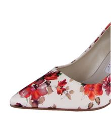 Rainbow Club Valentina floral court shoes