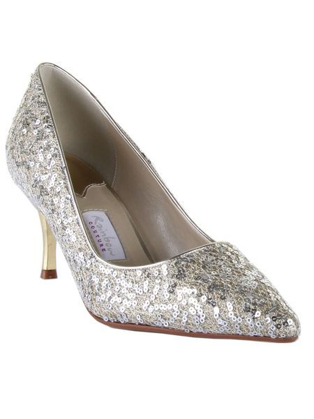 Rainbow Club Vita metallic court shoes