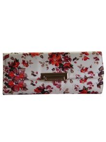Rainbow Club Satina clutch