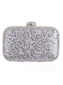 Rainbow Club Rene sequin handbag